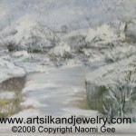 Acrylic Painting winter giftsbynaomi