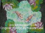 Silk Painting - Koi giftsbynaomi